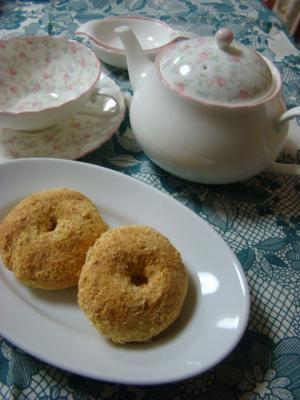 シナモン風味のおから焼きドーナツ