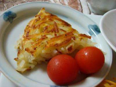 シンプルなポテト焼き