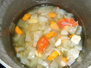 薬膳風簡単野菜スープ