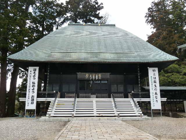 度牒式をまつ祖師堂(1)