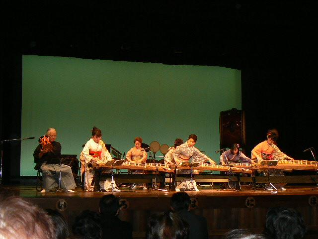 梢の会和楽器の演奏(大)