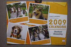 2009年度版 365カレンダー表紙
