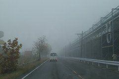 濃霧発生中