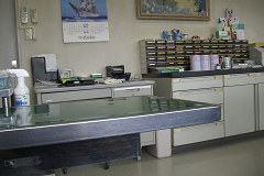 奥の診察台