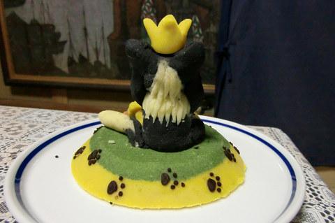 ケーキ後ろ