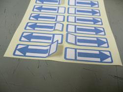 矢印テープ