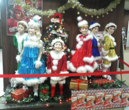 クリスマスな子供たち
