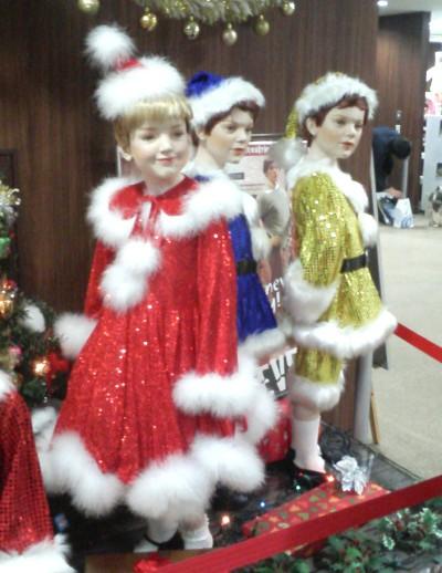 クリスマスエミリー&トニー&チャールズ