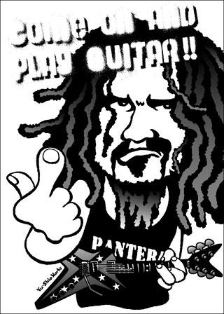 Dimebag Darrell of Pantera