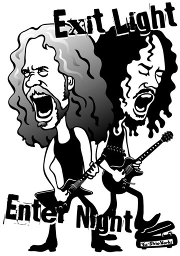 Metallica James Hetfield Kirk Hammett
