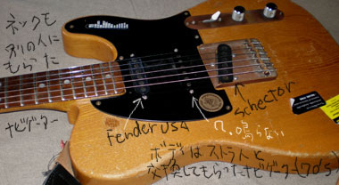 Telecaster Not Fender