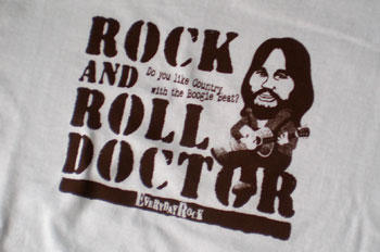 ロックTシャツ Rock And Roll Doctor Lowell George