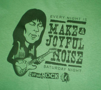Make A Joyful Noise ロック Tシャツ