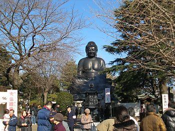 東京大仏 初詣!