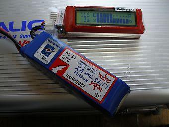 CellMeter-8でセルバランスと残量を確認!