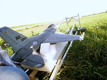 ダグデットファン飛行機 発射台から上空へ・・・・