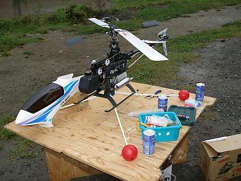 大工さんが現場で使う組立式テーブルは、作業性が良くヘリの調整にピッタリ!