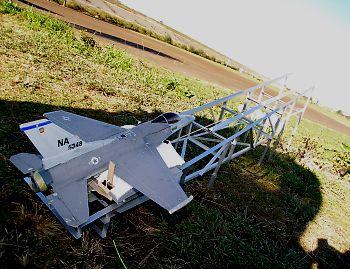 ダグデットファン飛行機の発射台