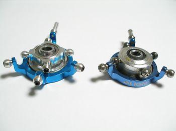 HDX450のメタルスワッシュプレート(CNC CCPMスワッシュプレート)とALIGN純正CCPMメタルスワッシュプレート(HS1111T-84)