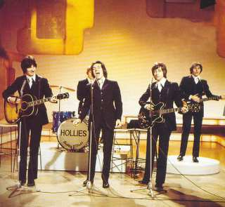 The Hollies in Concert, London, England, 1969.