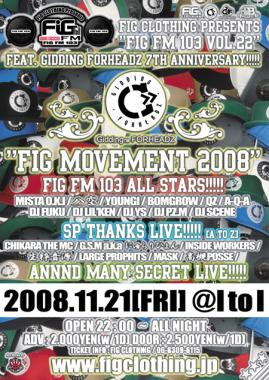 FIG MOVEMENT 2008.O