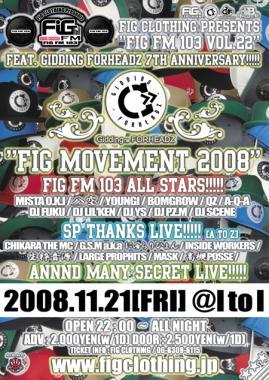 FIG MOVEMENT 2008.O
