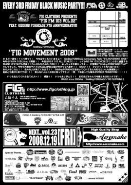 FIG MOVEMENT 2008.U