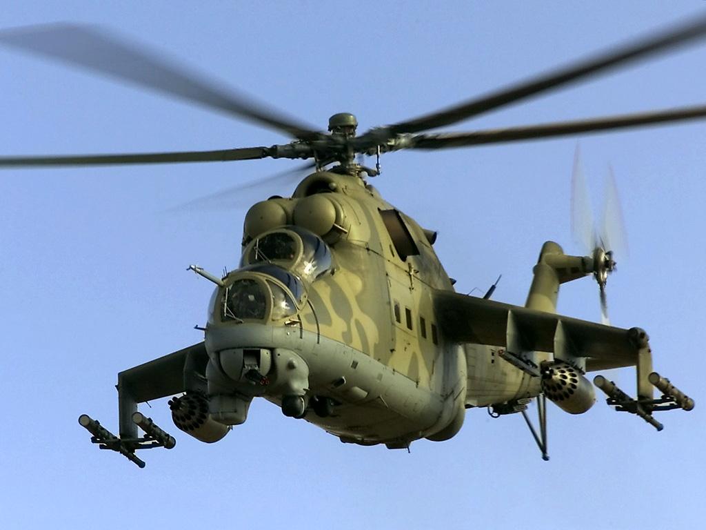 フィオの日記  Mi-24 ハインド