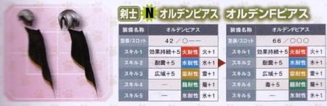 205【ネカフェ 剣士】オルデンピアスシリーズ