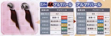 209【課金:AK ガンナー】アルマハールシリーズ