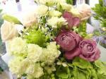 flowerbouquet white