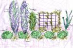 花壇植栽プラン