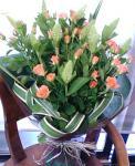 ミニバラ花束