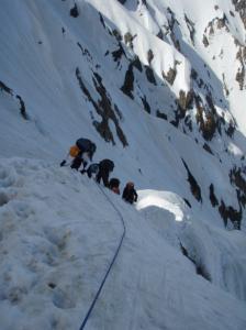 20080504P2の雪稜