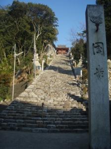 20080208伊佐爾波神社階段