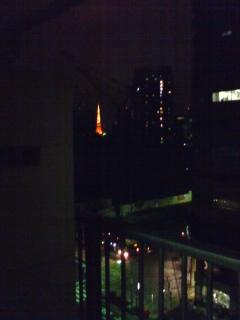 小さく東京タワー