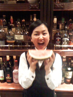スイカ食べたい!