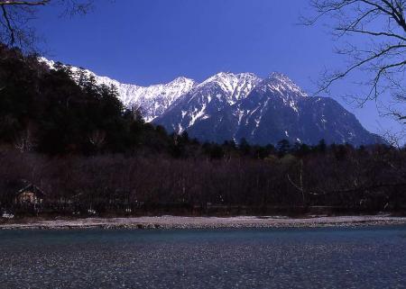 早春の上高地3