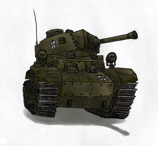 ラトアリア共和国主力中戦車