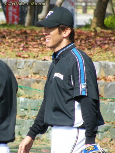 すっかりコーチのようだった、タテヤマン。
