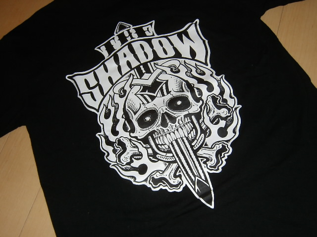 chinpei wrote the shadow t shirt