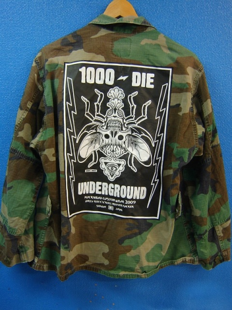 1000-die army back
