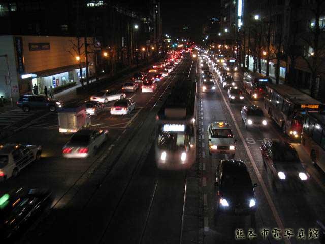 熊本城前電停2