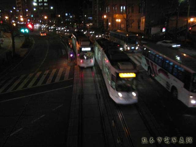 熊本城前電停3