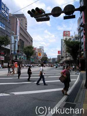 熊本市中心部、通町筋その1