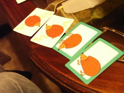 ハリネズミカードゲーム