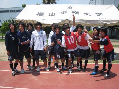 2009 Iリーグ中国 第1節 Bvs平大(7/4)ベンチ