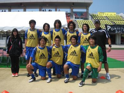 2009 全広島サッカー選手権大会 2回戦 vs平大 「サブ」