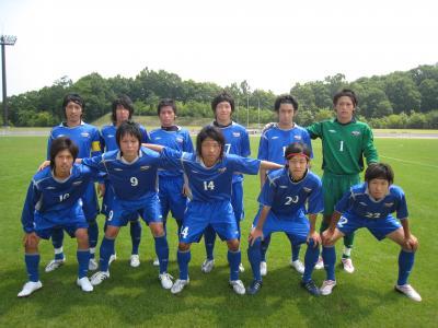 2009 全広島サッカー選手権大会 2回戦 vs平大 「先発」