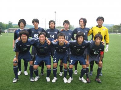 2009 Iリーグ 第2節 [福大A vs 工大](スタメン)7/11(土)